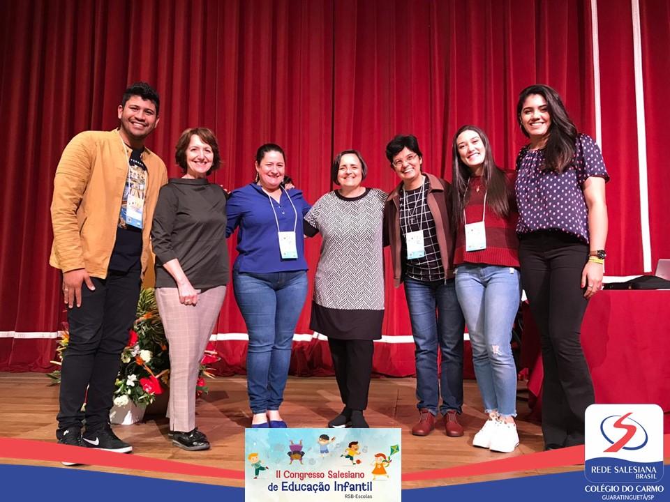 Colégio do Carmo presente no II Congresso Salesiano de Educação Infantil