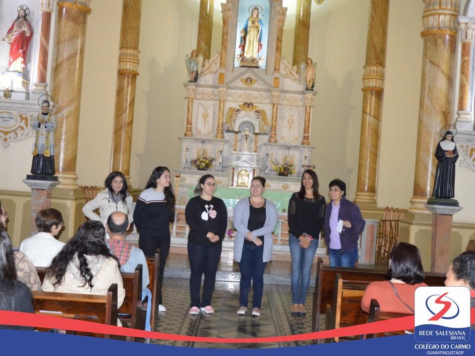 Seminário de Espiritualidade Salesiana com os Educadores do Colégio do Carmo