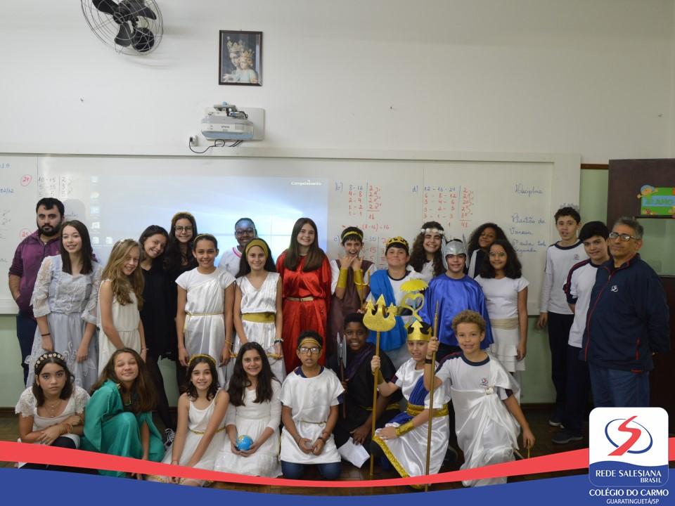 Mitologia Grega na aula de História - 6ºs Anos